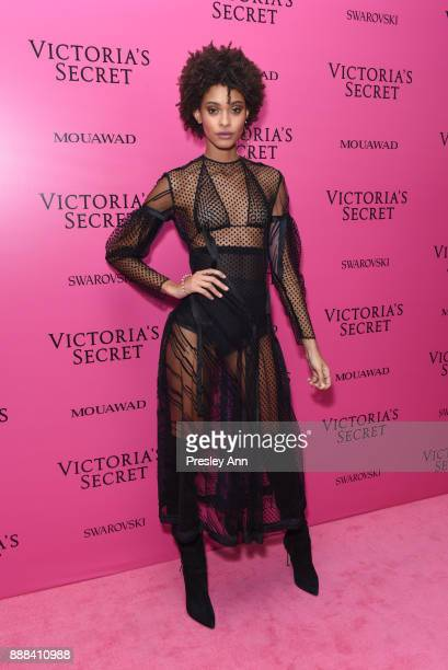 Samile Bermannelli attends 2017 Victoria's Secret Fashion Show In Shanghai After Party at MercedesBenz Arena on November 20 2017 in Shanghai China