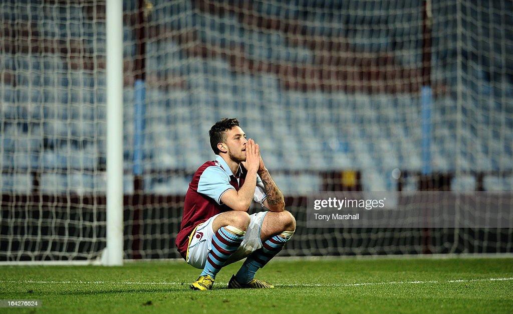 Aston Villa U19 v Olympiacos U19 - NextGen Series Quarter Final : News Photo
