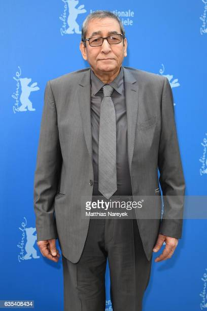 Samir Farid receives the 'Berlinale Camera' during the 67th Berlinale International Film Festival Berlin at Grand Hyatt Hotel on February 15 2017 in...