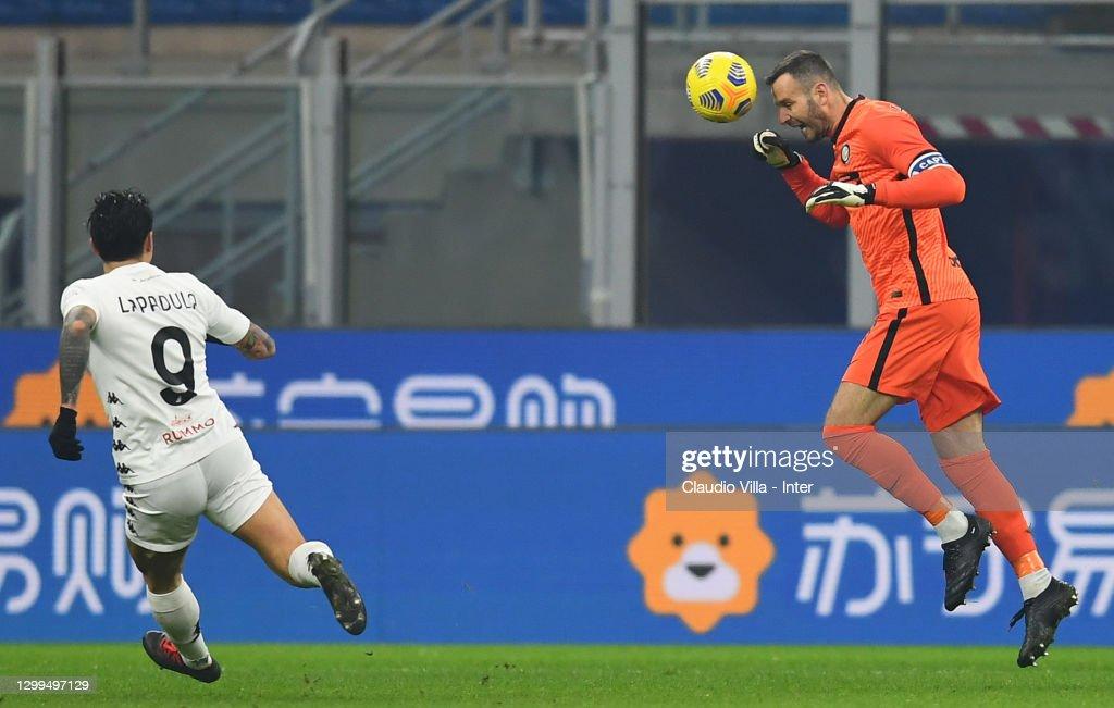 FC Internazionale  v Benevento Calcio - Serie A : News Photo