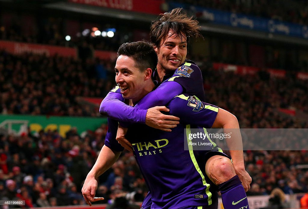 Stoke City v Manchester City - Premier League : Fotografía de noticias