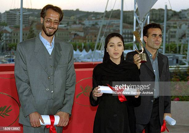Samira Makhmalbaf Jury Prize Hassan Yektapanah Bahman Ghobadi CoWinners of the Camera D'or