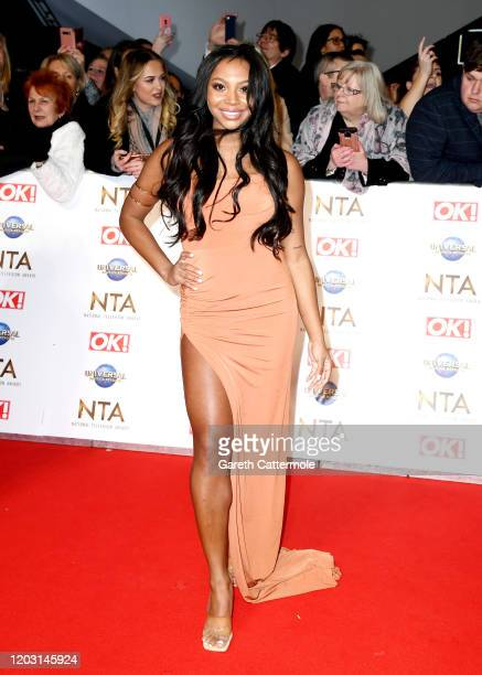 Samira Mighty attends the National Television Awards 2020 at The O2 Arena on January 28 2020 in London England