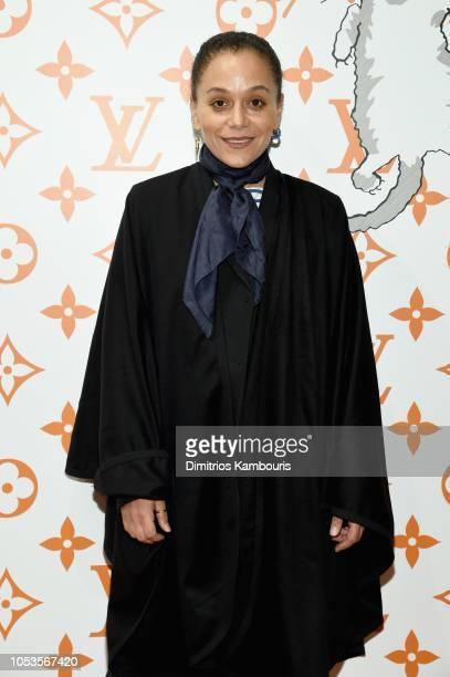 Samira Nasr attends the Louis Vuitton X Grace Coddington Event on October 25 2018 in New York City