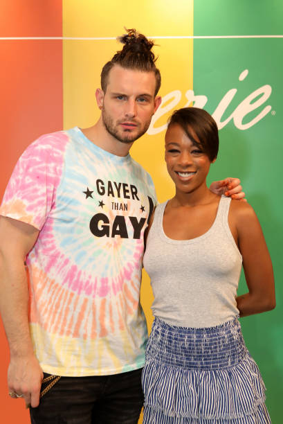 NY: #AerieREAL Role Model, Samira Wiley, Joins Nico Tortorella And Creators Coco & Breezy For Pride Celebration At American Eagle's Be You Studio