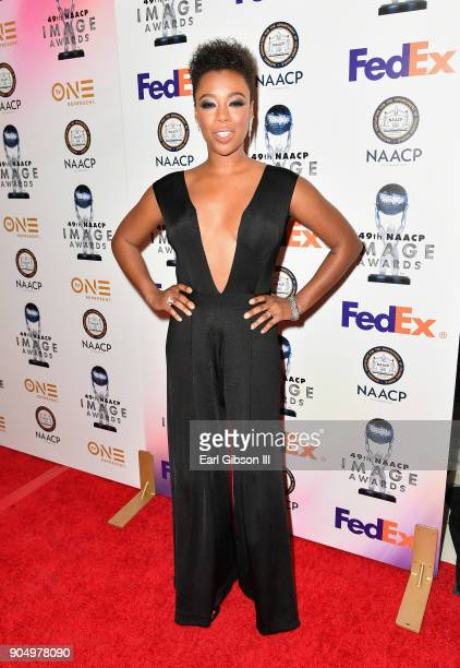 Samira Wiley at the 49th NAACP Image Awards NonTelevised Awards Dinner at the Pasadena Conference Center on January 14 2018 in Pasadena California
