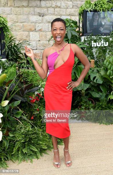 Samira Wiley attends as Spotify and Hulu host a night for creators artists and innovators during Cannes Lions 2018 at Chateau Saint George on June 18...