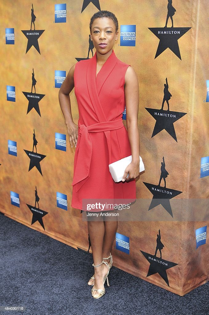 Samira Wiley attends 'Hamilton' Broadway Opening Night at Richard Rodgers Theatre on August 6, 2015 in New York City.