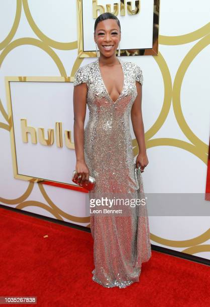 Samira Wiley attends Hulu's 2018 Emmy Party at Nomad Hotel Los Angeles on September 17 2018 in Los Angeles California