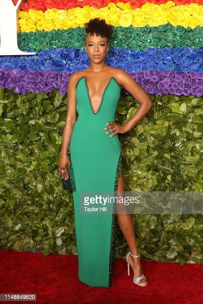 Samira Wiley attends the 2019 Tony Awards at Radio City Music Hall on June 9 2019 in New York City