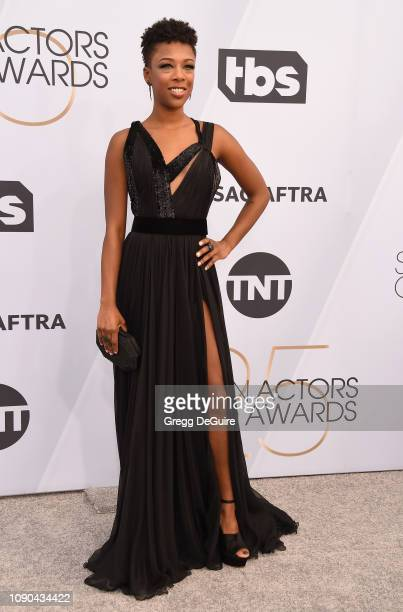 Samira Wiley attends the 25th Annual Screen Actors Guild Awards at The Shrine Auditorium on January 27 2019 in Los Angeles California 480645