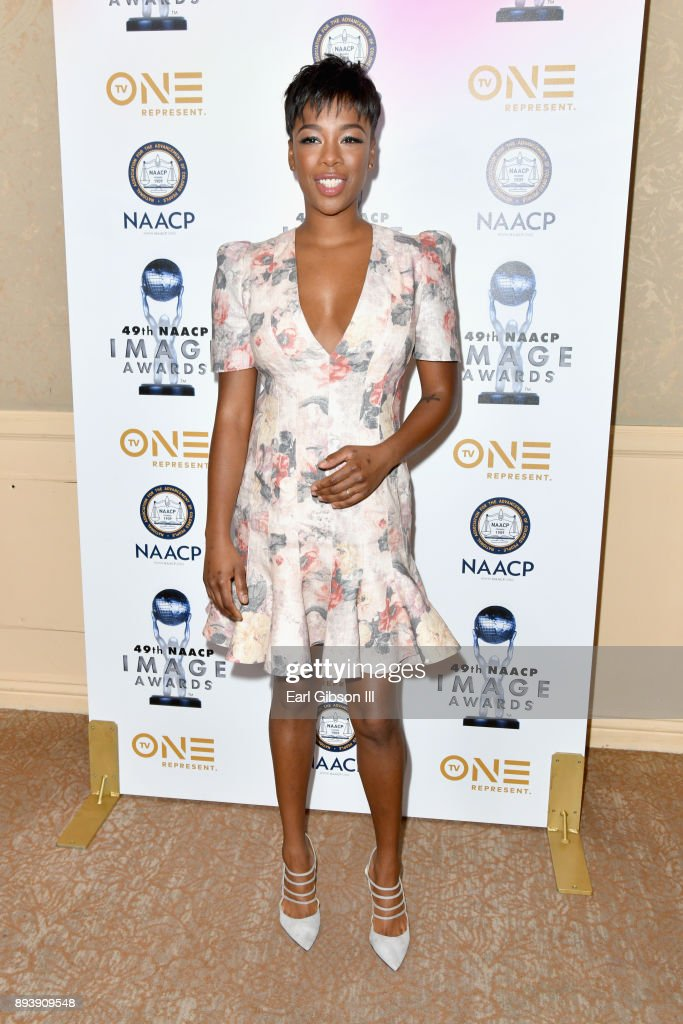 Samira Wiley attends the 49th NAACP Image Awards Nominees' Luncheon at The Beverly Hilton Hotel on December 16, 2017 in Beverly Hills, California.