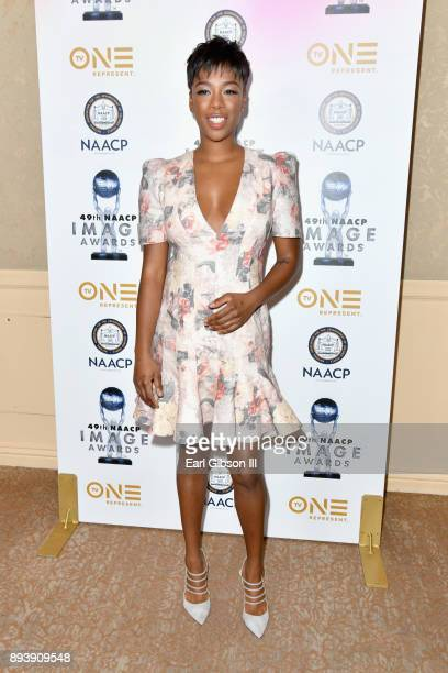 Samira Wiley attends the 49th NAACP Image Awards Nominees' Luncheon at The Beverly Hilton Hotel on December 16 2017 in Beverly Hills California