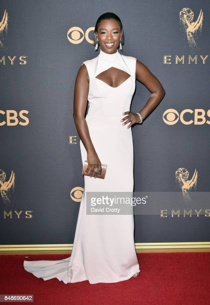 Samira Wiley attends the 69th Annual Primetime Emmy Awards at Microsoft Theater on September 17 2017 in Los Angeles California