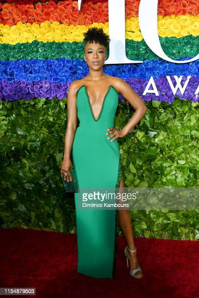 Samira Wiley attends the 73rd Annual Tony Awards at Radio City Music Hall on June 09 2019 in New York City