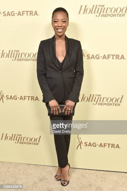 Samira Wiley attends The Hollywood Reporter And SAGAFTRA Celebrate Emmy Award Contenders At Annual Nominees Night at Avra Beverly Hills Estiatorio on...