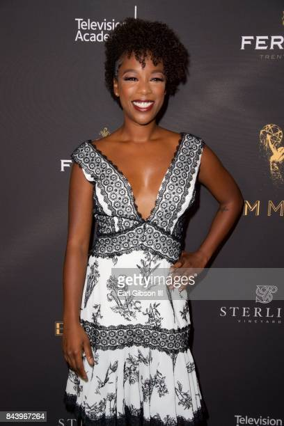 Samira Wiley attends the Television Academy Celebrates Nominees For Outstanding Casting at Montage Beverly Hills on September 7 2017 in Beverly Hills...