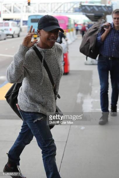 Samira Wiley is seen on December 5 2019 in Los Angeles California