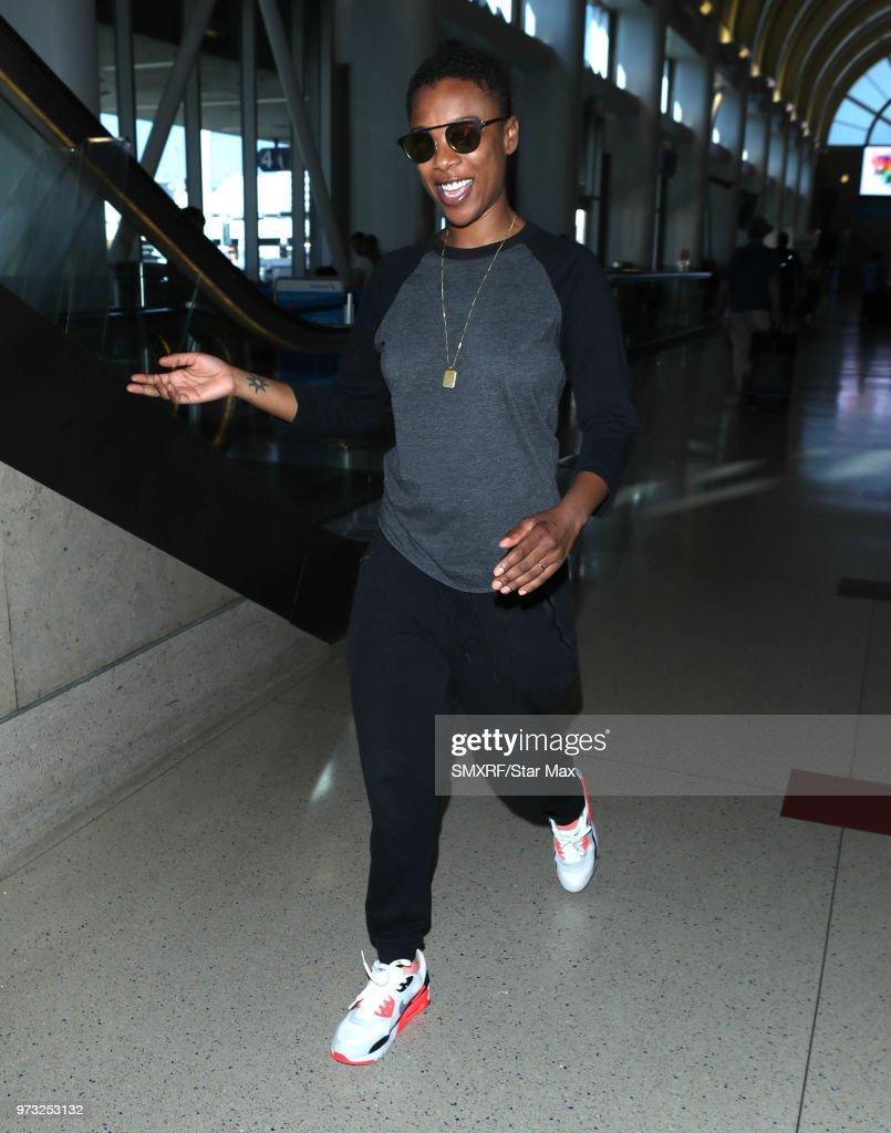 Samira Wiley is seen on June 12, 2018 in Los Angeles, CA.