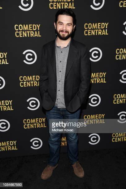 Samm Levine attends Comedy Central's Emmys Party at The Highlight Room at the Dream Hotel on September 16 2018 in Hollywood California