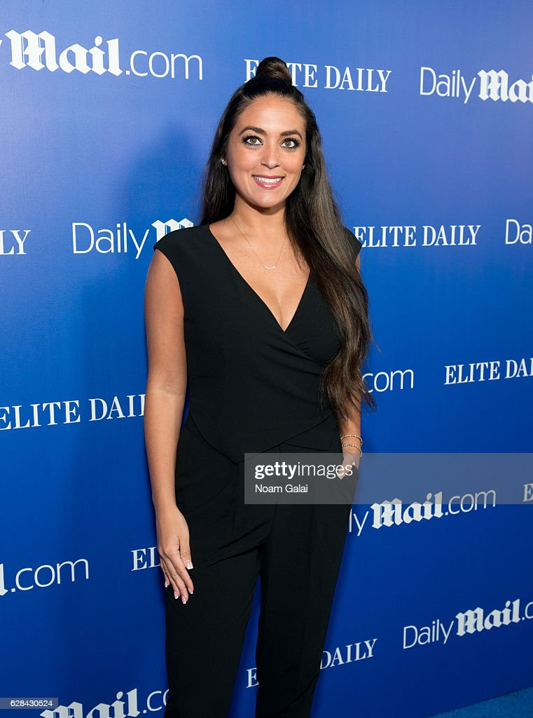 Sammi Giancola attends the DailyMail.com and Elite Daily holiday party at Vandal on December 7, 2016 in New York City.