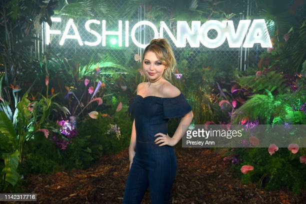 Sammi Hanratty is seen as Fashion Nova Presents Party With Cardi at Hollywood Palladium on May 8 2019 in Los Angeles California