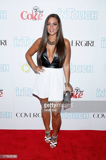Sammi Sweetheart Giancola arrives at Intouch Weekly's ICONS IDOLS Party at FINALE Nightclub on August 25 2013 in New York City