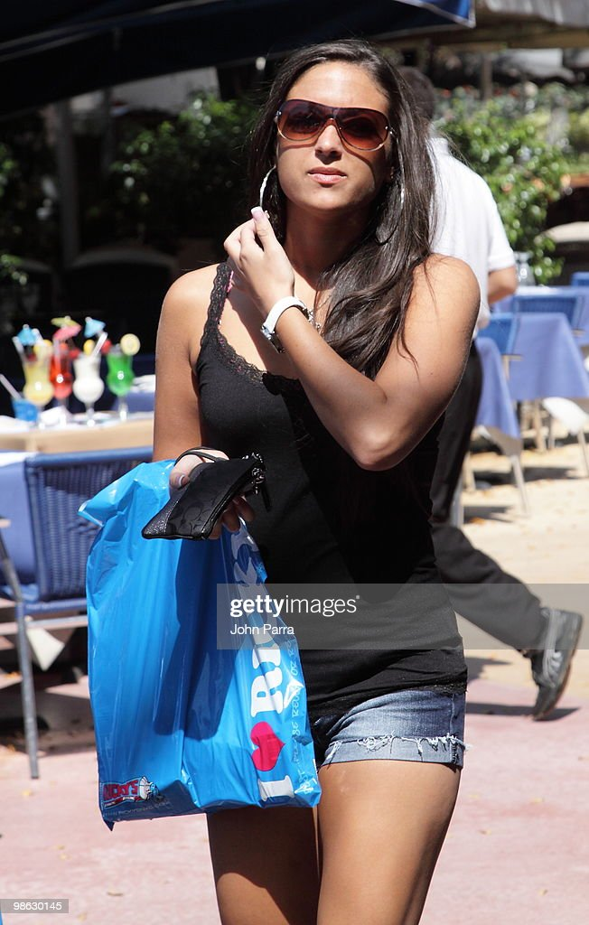 Sammi 'Sweetheart' Giancola is seen on April 22, 2010 in Miami Beach, Florida.