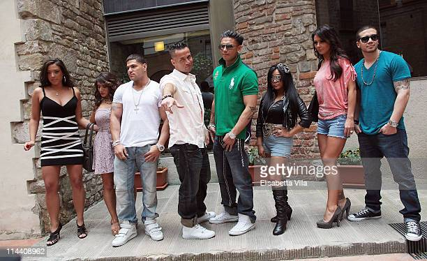 "Sammi ""Sweetheart"" Gianicola, Deena Nicole Cortese, Ronnie Ortiz Magro, Mike ""The Situation"" Sorrentino, Paul ""Pauly D"" DelVecchio, Nicole ""Snooki""..."