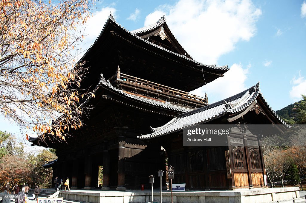 Sammon gate in Nanzenji Temple, Kyoto, Japan : Stock Photo