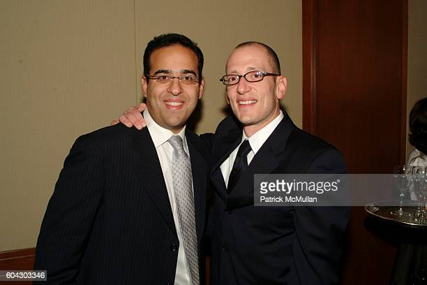 Sammy Baretz and Yoni Leifer attend American Friends of Shalva Annual Dinner at Pier 60 on March 5 2006 in New York City