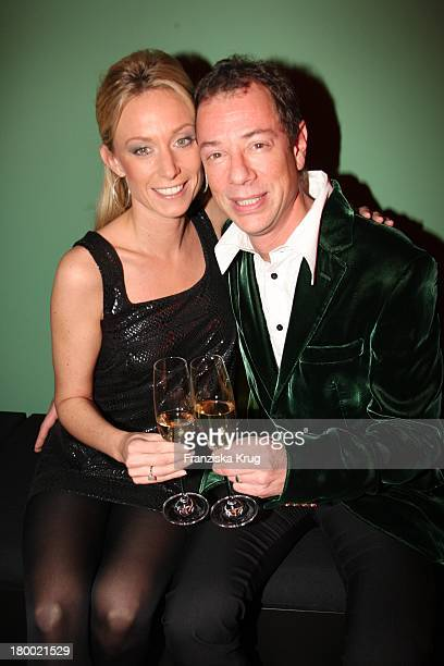 Sammy Brauner Und Alexandra Christmann Bei Der Party 10 Jahre Departmentstore Quartier 206 In Berlin