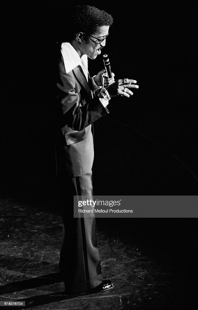 Sammy Davis Jr. on Stage : Photo d'actualité