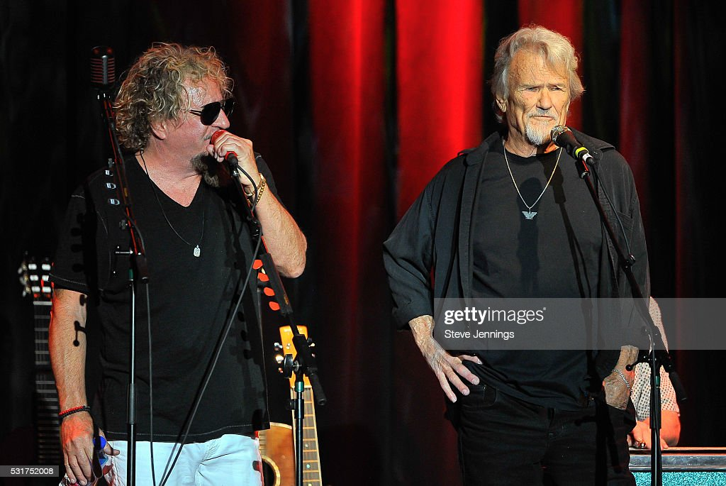 ce903768 Sammy Hagar and surprise guest Kris Kristofferson perform at the 3rd ...