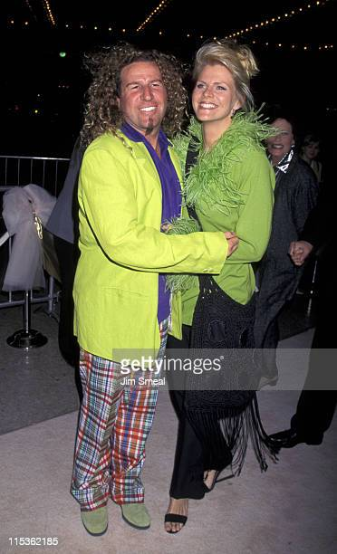Sammy Hagar and wife during That Old Feeling Los Angeles Premiere at Cineplex Odeon Century Plaza Cinema in Century City California United States