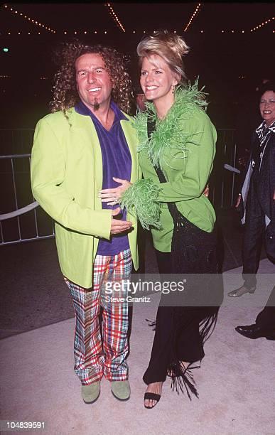 Sammy Hagar and wife Kari Hagar during That Old Feeling Los Angeles Premiere at Cineplex Odeon Century Plaza Cinema in Century City California United...