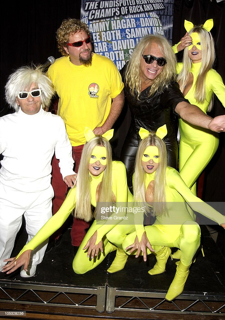 Sammy Hagar David Lee Roth during Sammy Hagar David Lee Roth Tour 2002Song For SongThe Heavyweight  sc 1 st  Getty Images & Song.The Stock Photos and Pictures | Getty Images