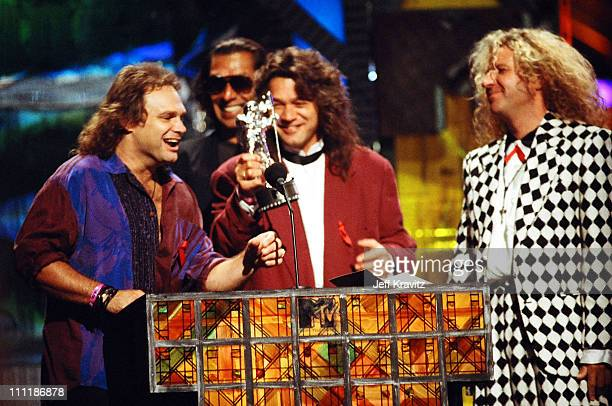 Sammy Hagar Michael Anthony Alex Van Halen and Eddie Van Halen