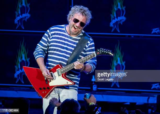 Sammy Hagar of Sammy Hagar And The Circle performs at DTE Energy Music Theater on May 22 2019 in Clarkston Michigan