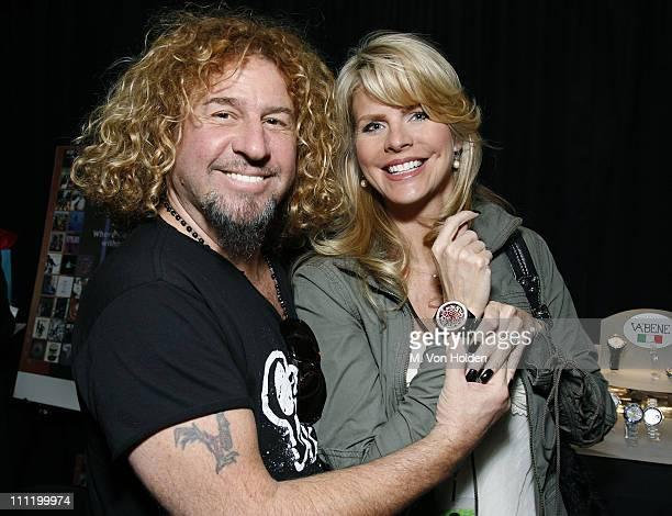 Sammy Hagar of Van Halen and wife *EXCLUSIVE*