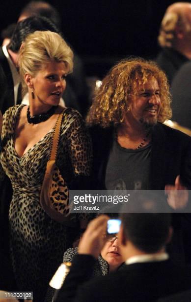 Sammy Hagar of Van Halen inductee and wife Kari Hagar