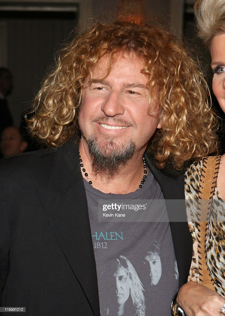 Sammy Hagar of Van Halen, inductee during 22nd Annual Rock and Roll Hall of Fame Induction Ceremony - Cocktails and Dinner at Waldorf Astoria in New York City, New York, United States.
