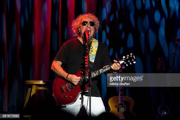 Sammy Hagar performs at 3rd annual Acoustic4aCure benefit concert at The Fillmore on May 15 2016 in San Francisco California