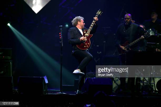 Sammy Hagar performs at the 24th annual Keep Memory Alive 'Power of Love Gala' benefit for the Cleveland Clinic Lou Ruvo Center for Brain Health at...