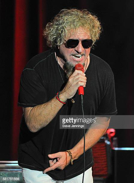 Sammy Hagar performs at the 3rd Annual Acoustic4ACure concert a Benefit for the Pediatric Cancer Program at UCSF Benioff Children's Hospital at The...