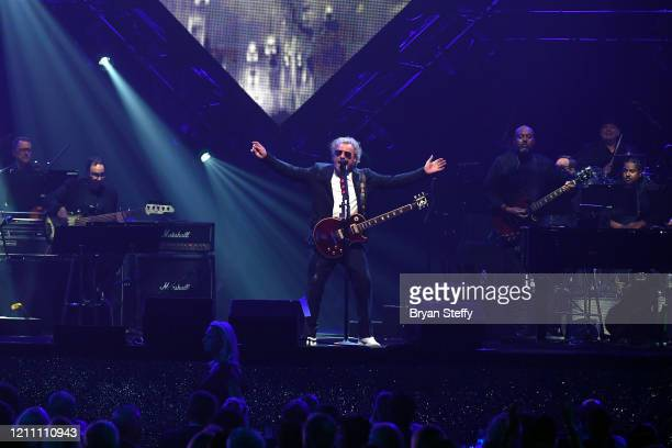 Sammy Hagar performs onstage at the 24th annual Keep Memory Alive 'Power of Love Gala' benefit for the Cleveland Clinic Lou Ruvo Center for Brain...