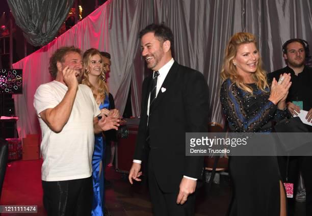Sammy Hagar Samantha Hagar Jimmy Kimmel and Kari Karte attend the 24th annual Keep Memory Alive 'Power of Love Gala' benefit for the Cleveland Clinic...