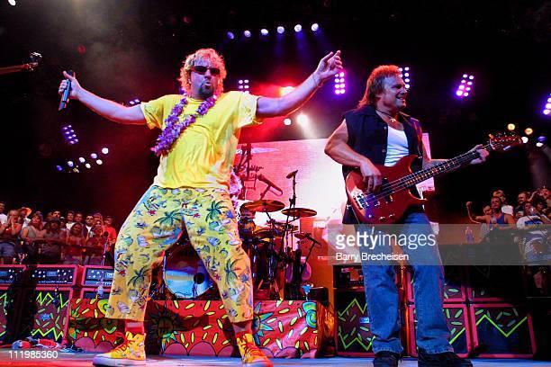 Sammy Hagar with special guest Van Halen's bass player Michael Anthony