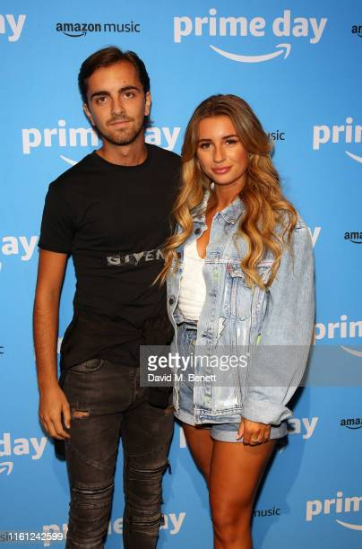 Sammy Kimmence and Dani Dyer attend Amazon's Prime Day Party To kick off Prime Day 2019 celebrations Rita Ora and Ray BLK performed at Amazon's Prime...