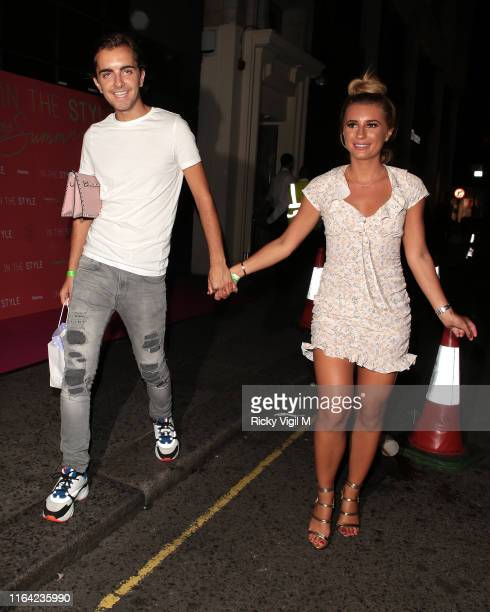 Sammy Kimmence and Dani Dyer seen attending In The Style Summer Party at Libertine club on July 25 2019 in London England